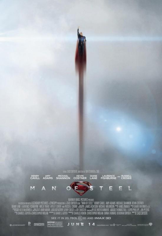 Man of Steel Flight Poster