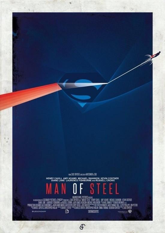 Man of Steel - Minimalist