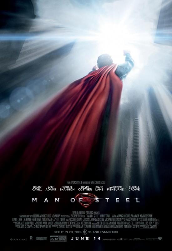 Man of Steel Poster Flight