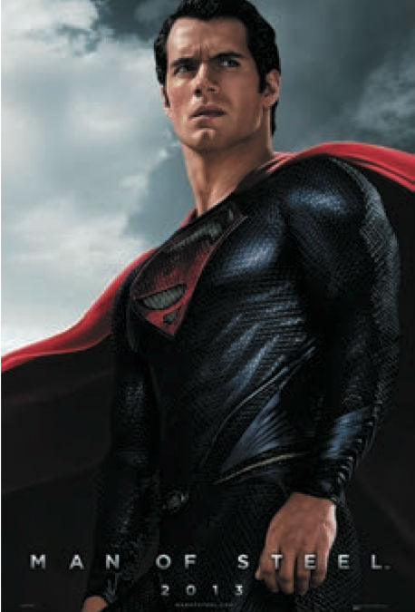 Man of Steel Wal-mart poster