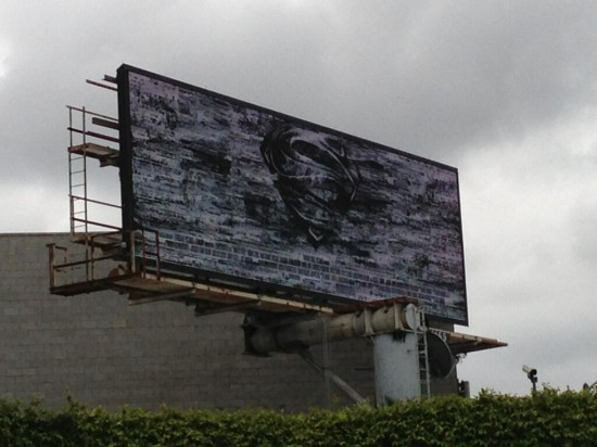 Man of Steel billboard
