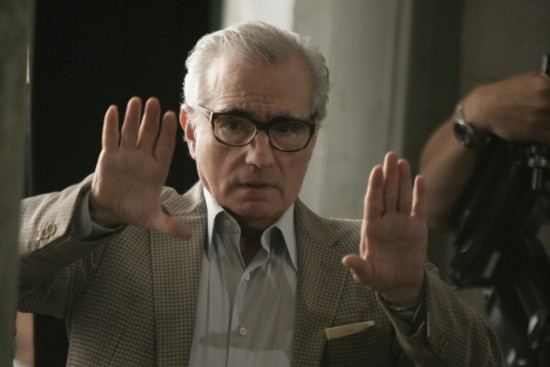 Martin Scorsese directing Boardwalk Empire