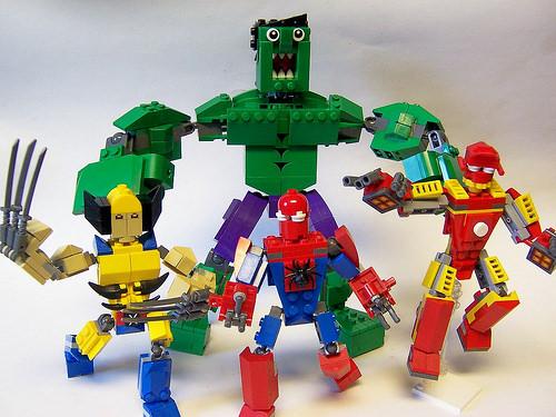 Marvel Cube Dudes