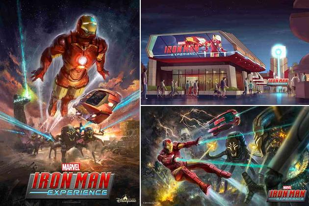 Marvel Iron Man Experience Hong Kong Disneyland