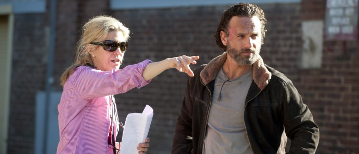 Michelle MacLaren and Andrew Lincoln - The Walking Dead