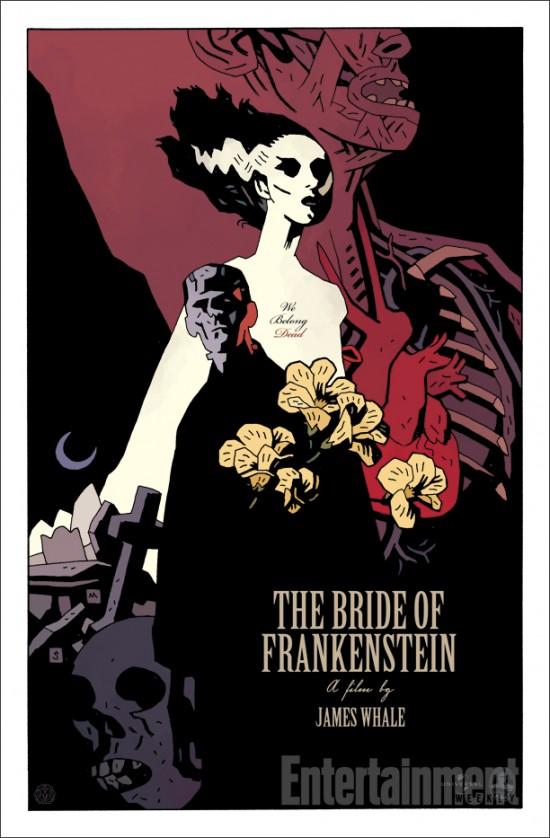 Mike Mignola Bride of Frankenstein EW