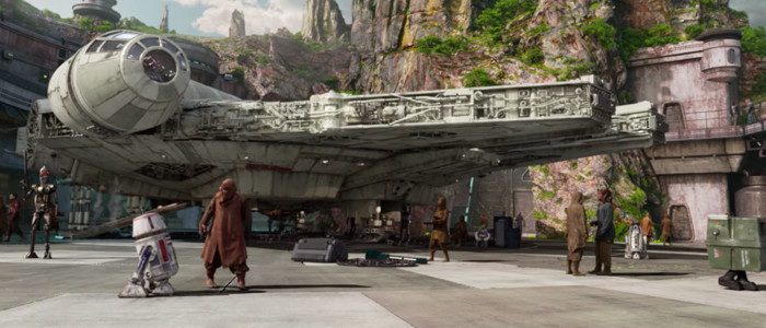 Star Wars Galaxy's Edge Millennium Falcon Complete