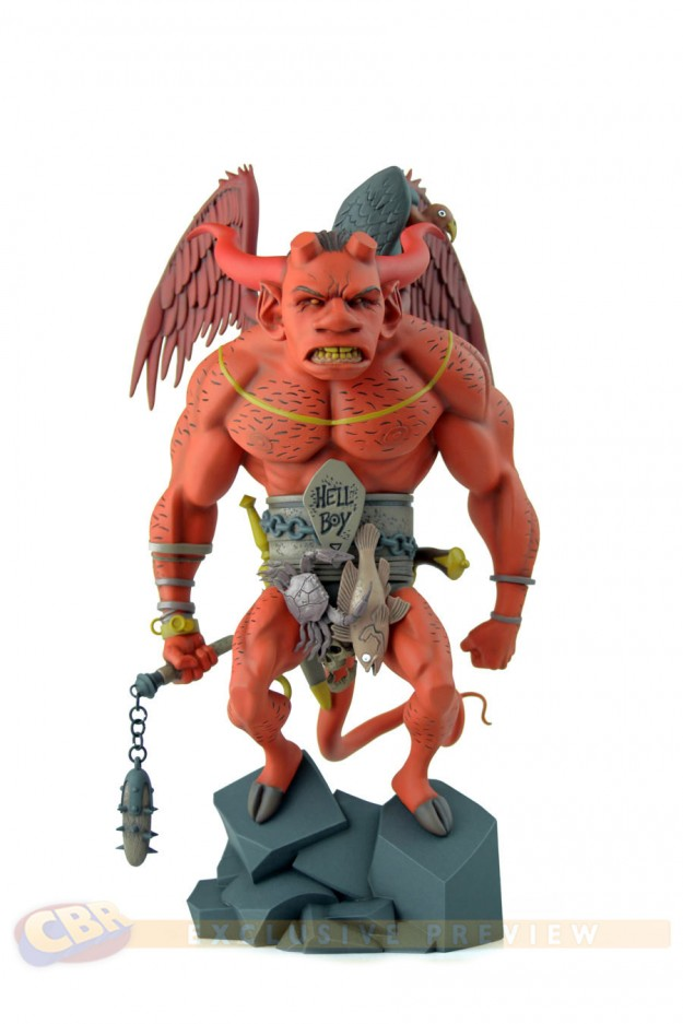 Mondo Hellboy Statue