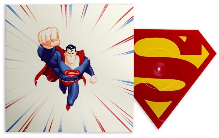 Mondo Superman Animated Series Die Cut Single