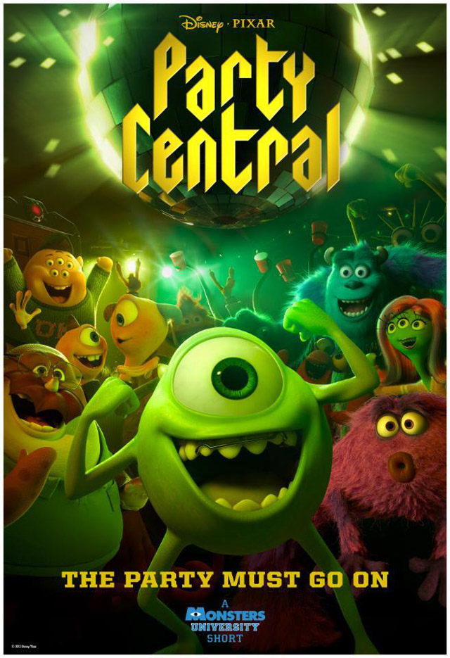 Monsters University Short Party Central Preview And