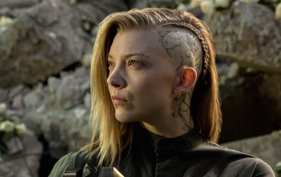 Natalie Dormer Hunger Games Mockingjay