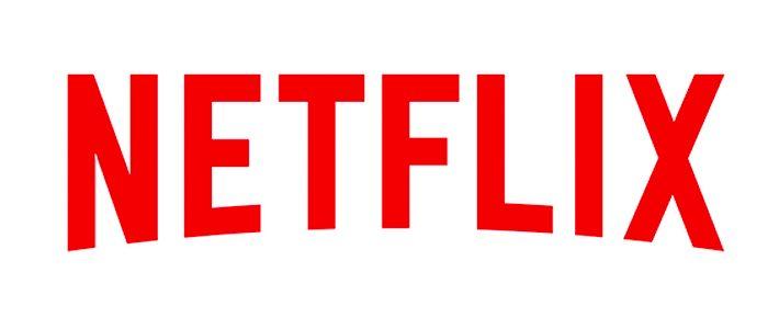 Netflix logo white