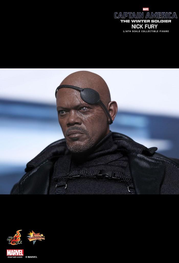 Nick Fury sixth scale figure