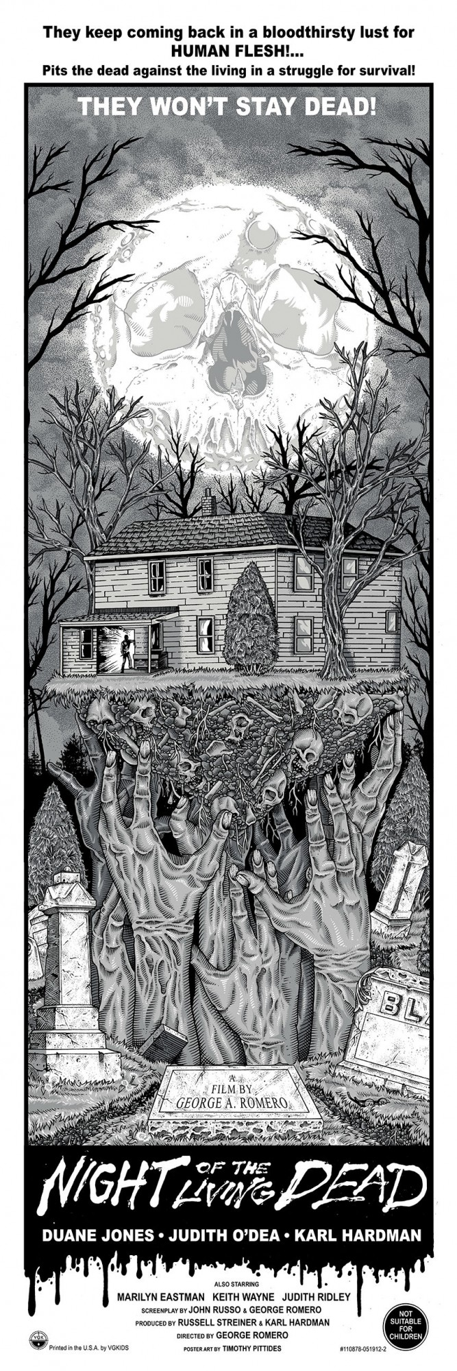 Night of the Living Dead Timothy Pittides