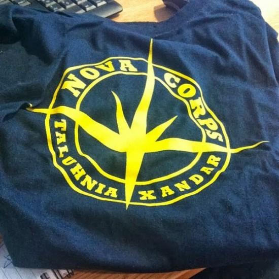 Nova Corps shirt