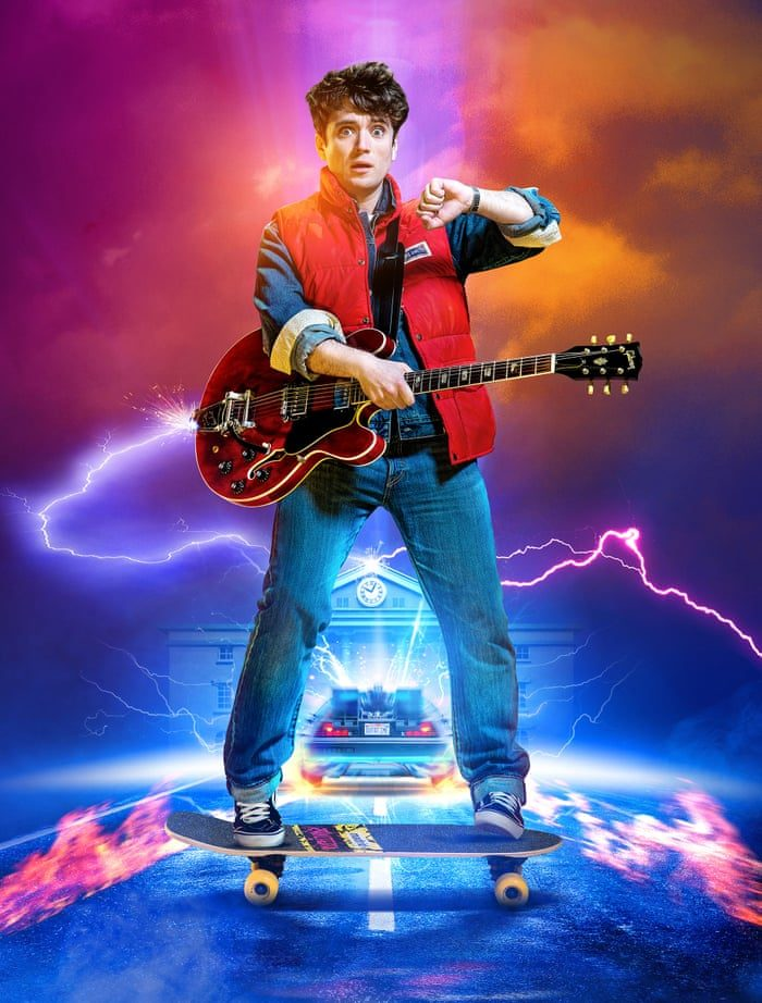 Olly Dobson Back to the Future musical