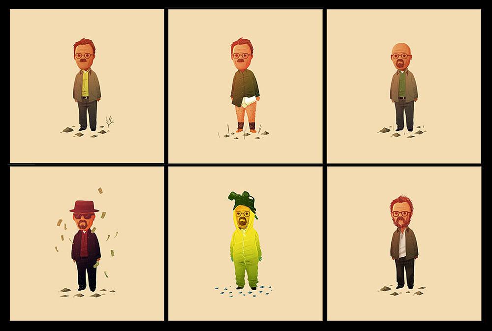 Cool Stuff: Olly Moss\' \'Breaking Bad\' \