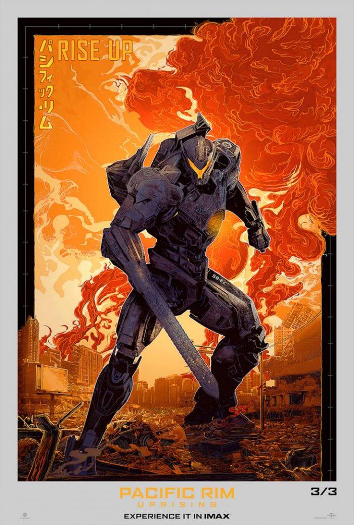 Pacific Rim Uprising IMAX Poster