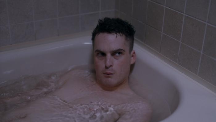 Patrick in tub