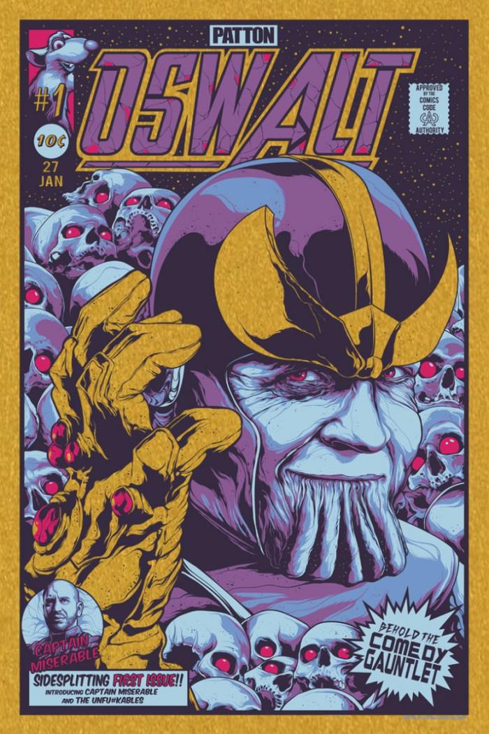 Patton Oswalt Thanos