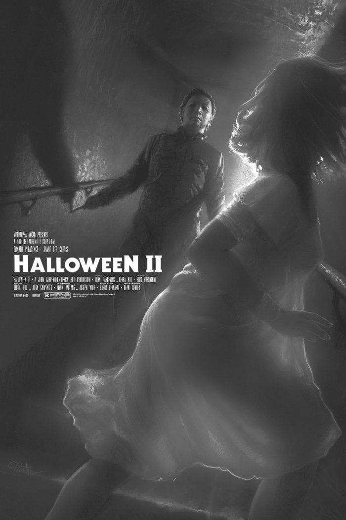 "Matthew Peak ""Halloween 2"" Variant Screen print"