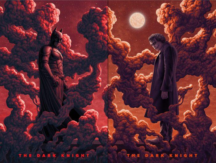 """Boris Pelcer """"The Dark Knight"""" Screen print"""