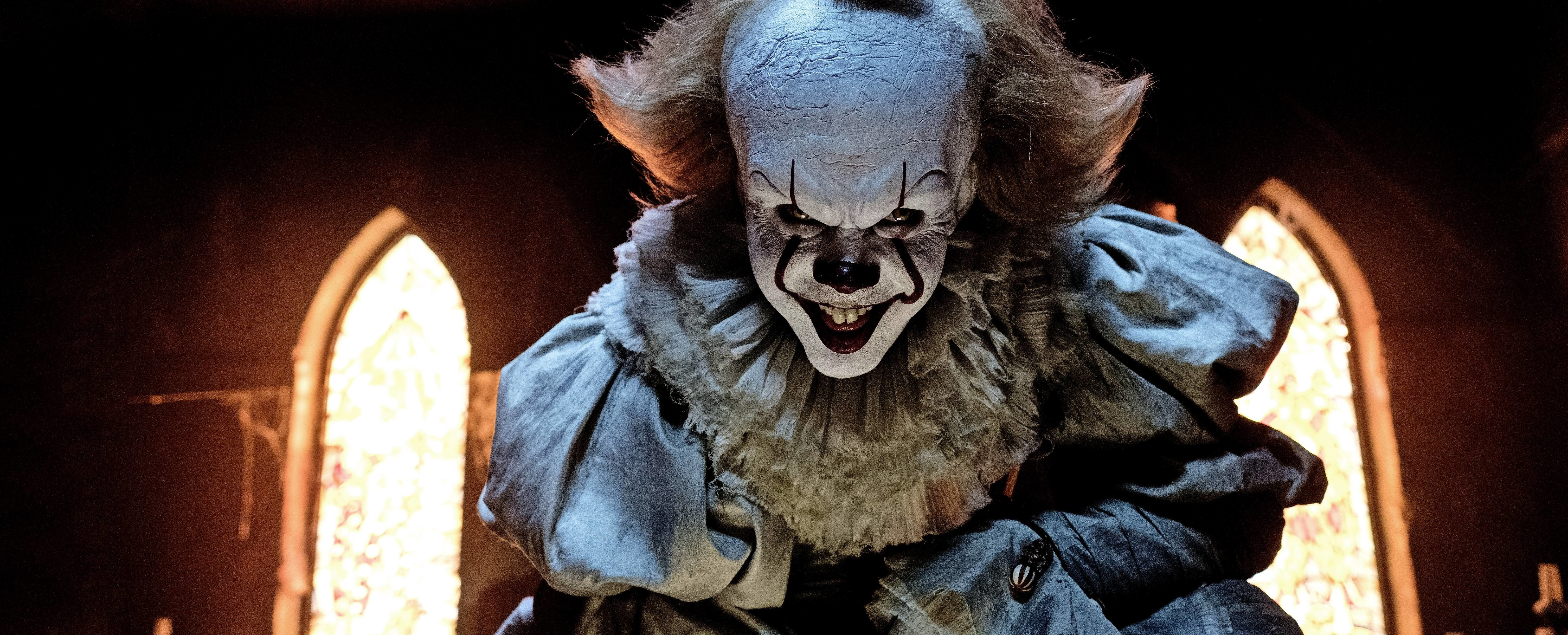 Wallpaper It Clown Bill Skarsgard Horror 2017 Hd: How The New Pennywise Mirror The Fears Of 2017