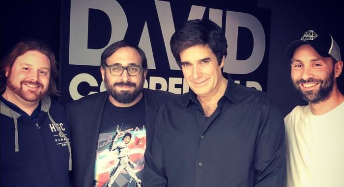 Peter Sciretta Saw David Copperfield in Las Vegas