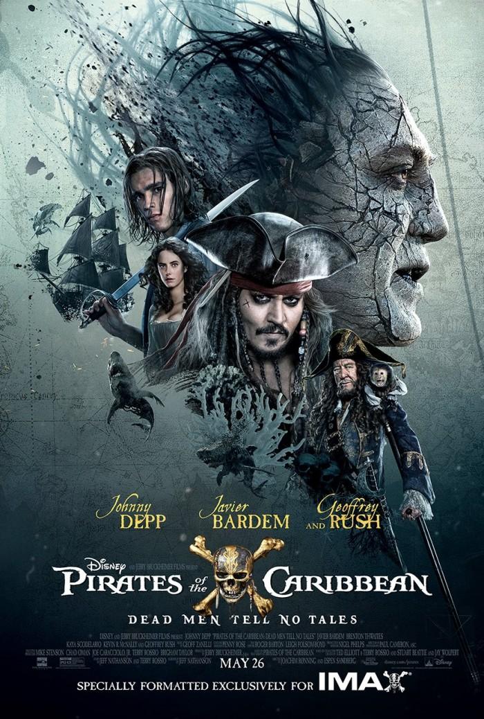 Pirates 5 IMAX poster