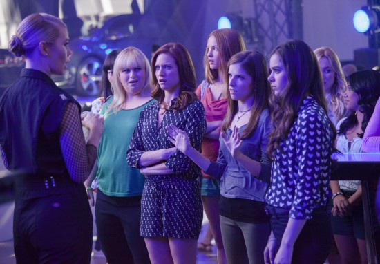 Pitch Perfect 2 backstage