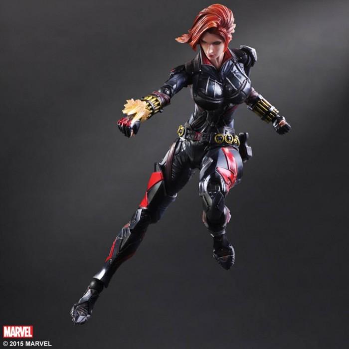 Play Arts Black Widow