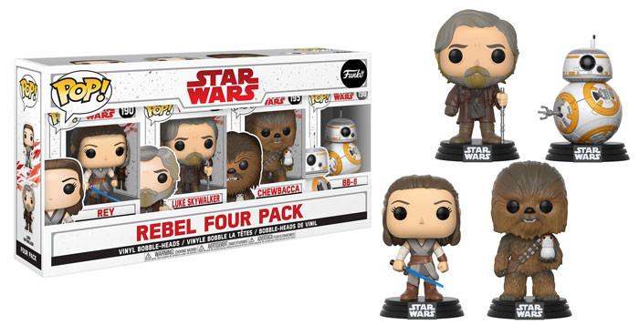 Porg Chewie Rebel 4