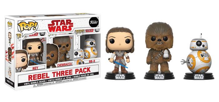 Porg Chewie Rebel