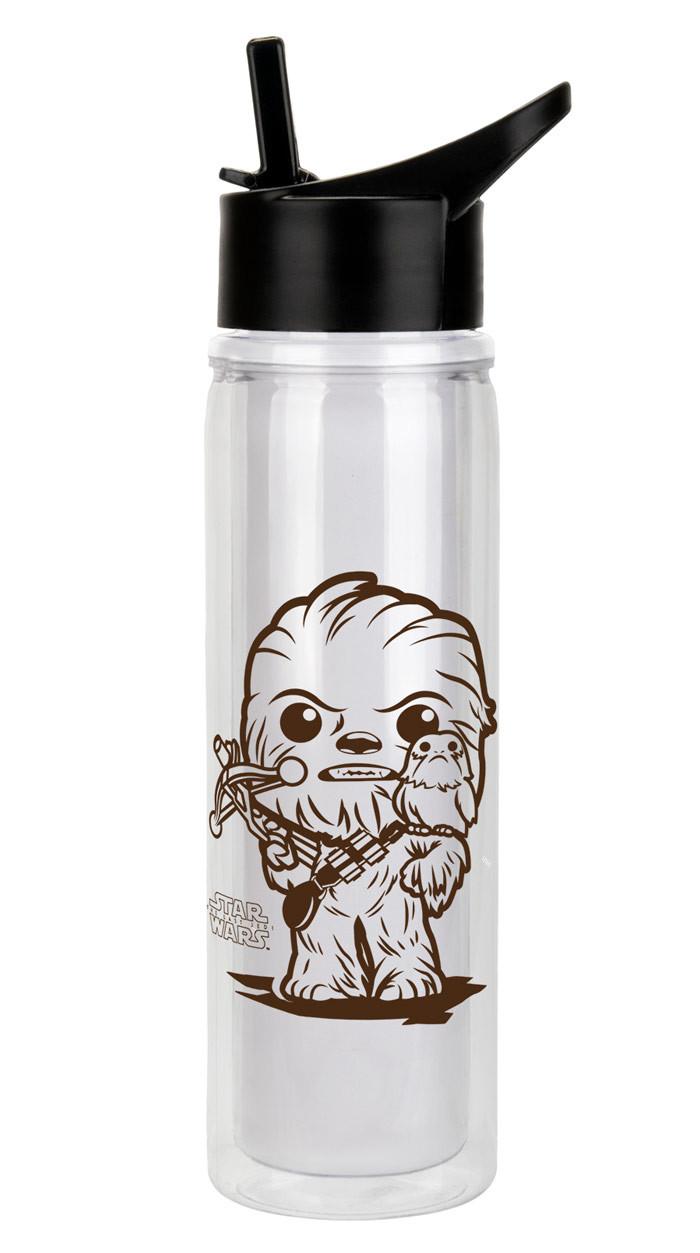 Porg water bottle Chewie