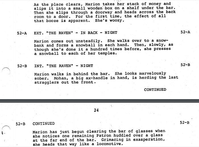 Raiders script