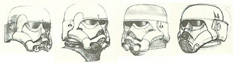 Ralph McQuarrie StormTrooper concepts