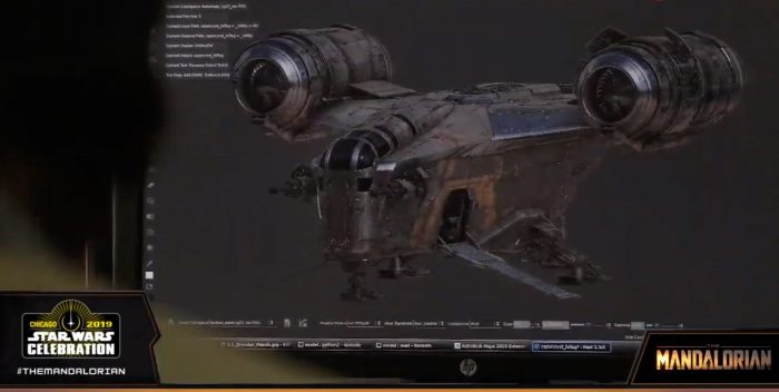 'The Mandalorian' Used Practical Miniature Ships, Shot Like the Original 'Star Wars' Trilogy