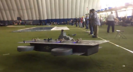 Real Helicarrier