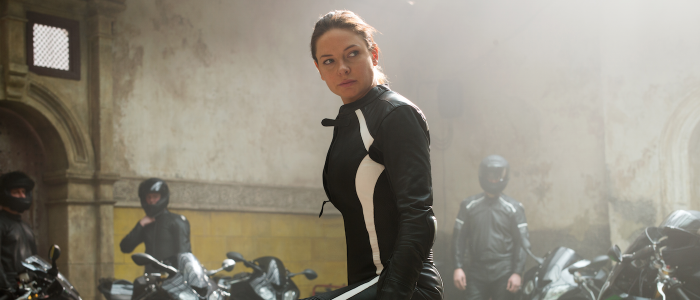 Rebecca Ferguson in Mission Impossible Rogue Nation