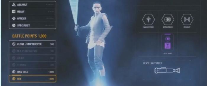 Rey Lightsaber Star Wars Battlefront 2
