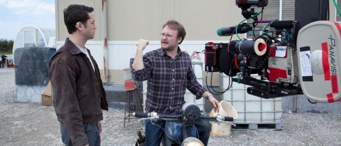 Rian Johnson directing Looper