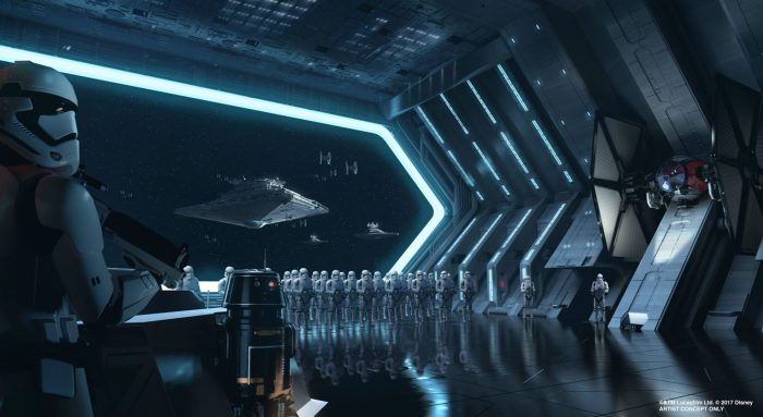 Rise of the Resistance concept art galaxys edge