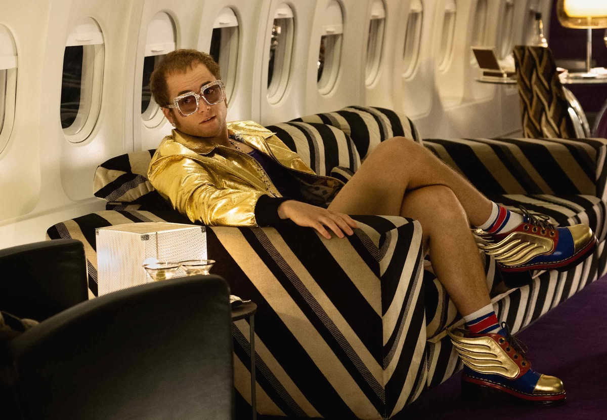 Taron Egerton Looks Fantastic As Elton John In 'Rocketman' Biopic