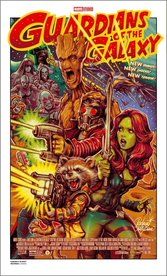 "Rockin Jelly Bean ""Guardians of the Galaxy"" Screen print"