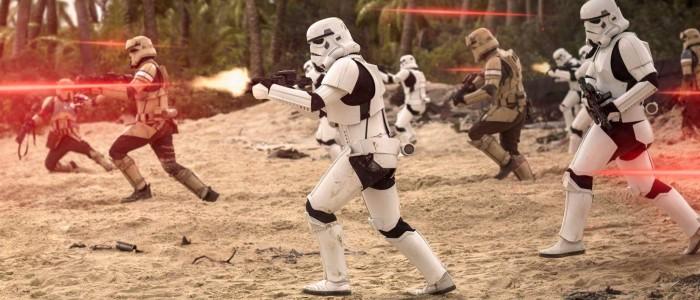 Rogue One A Star Wars Story - Scarif battle