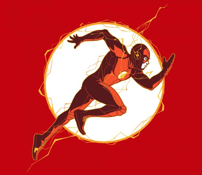 Run Barry Run tshirt
