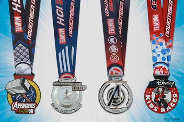 Run Disney medals