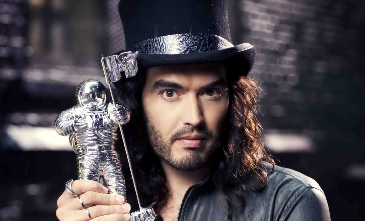 russell brand. Black Bedroom Furniture Sets. Home Design Ideas