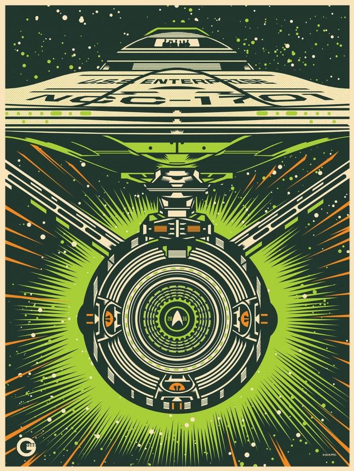 Star Trek Beyond collectors print