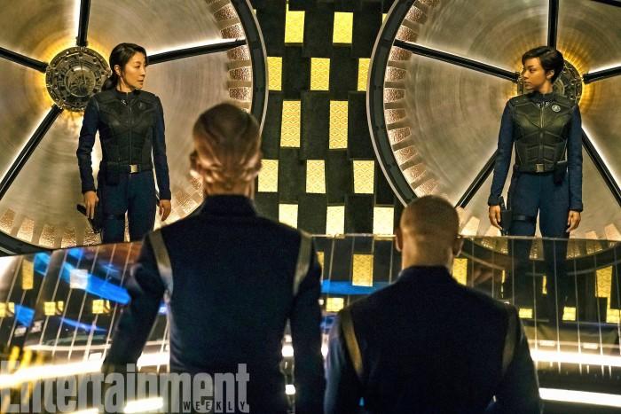 Star Trek Discovery transporter room